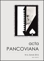 Acta Pancoviana nr 6