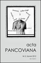 Acta Pancoviana nr 5.