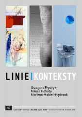 Wystawa LINIE I KONTEKSTY- wernisaż
